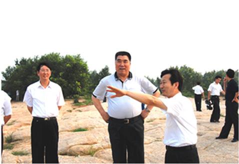 原省长李成玉视察铜山